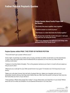 Father Peyton Quotes