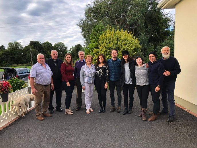 PRAY Crew with Peyton Family in Ireland 3-1